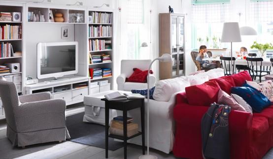 Galleria foto - Soggiorno Ikea idee arredo Foto 2