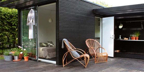 casa in legno design