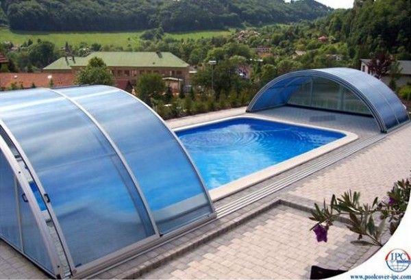 copertura piscina per esterno