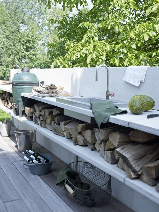 Cucine Esterne Moderne.Cucina Da Esterno