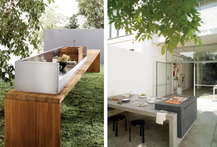 Galleria foto - Cucina da giardino e terrazzo Foto 51 ...