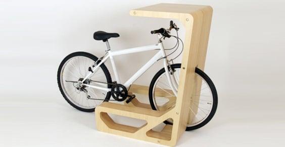 Galleria foto - Porta bici design originale Foto 1