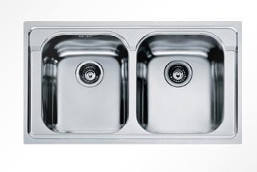 lavello senza sgocciolatoio