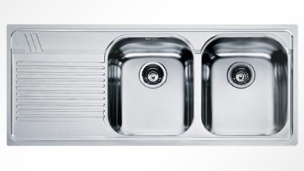 Lavello misure - Lavandino doppia vasca cucina ...