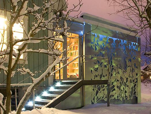 Decorazioni casa in alluminio