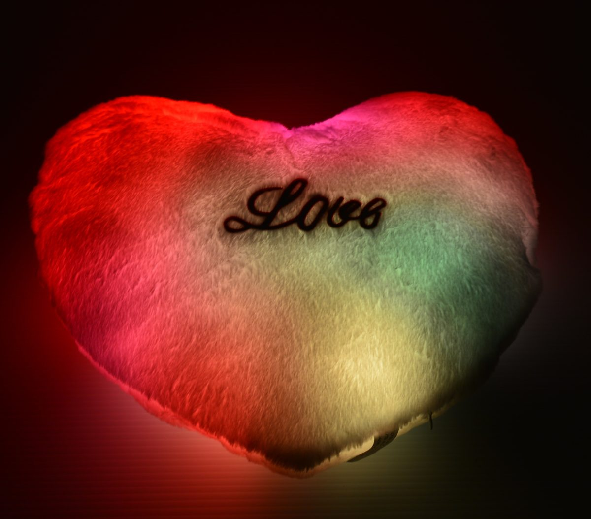 cuscino-led-cuore