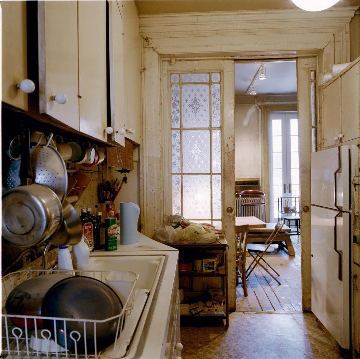 monolocale-stile-americano-cucina