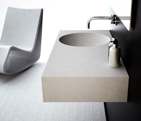 Lavandino da bagno moderno