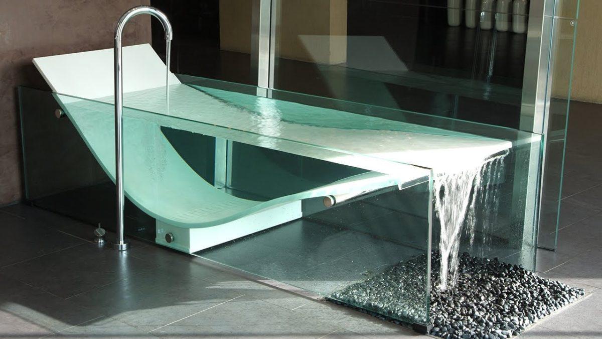 Vasca Da Bagno Trasparente Idee Di Arredo