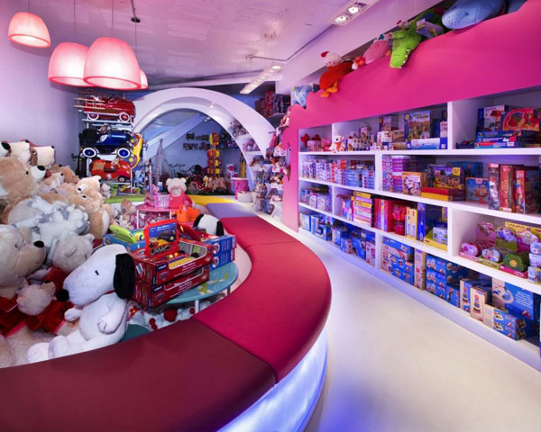 negozio giocattoli arredo 5