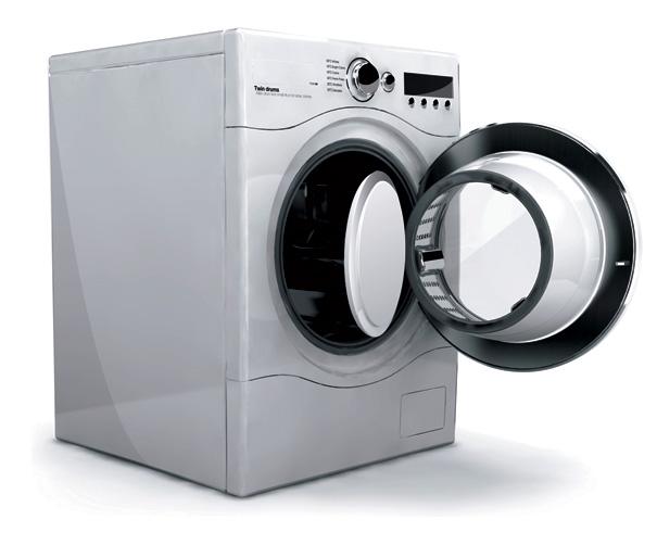 lavatrice con doppio cestello