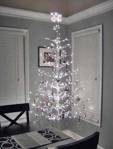 Galleria foto - Come addobbare l'albero di Natale bianco? Foto 58