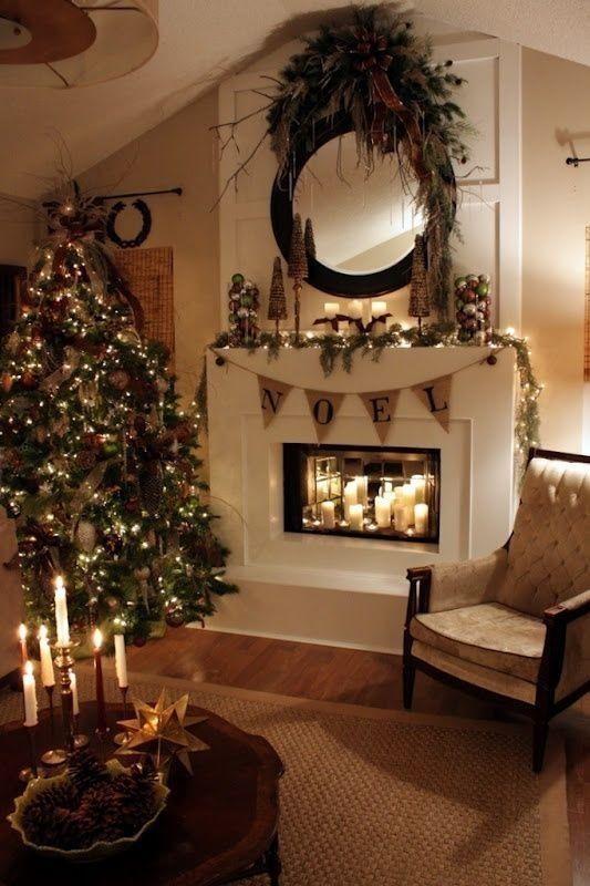 Popolare Addobbi natalizi per camini idee e foto GN81