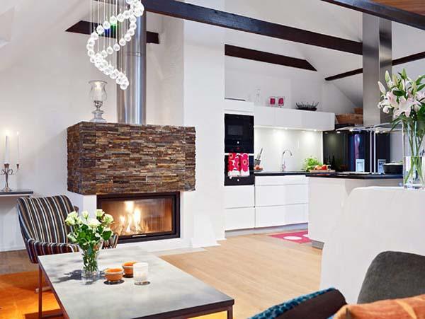 Ottimizzare gli spazi in un piccolo appartamento for Arredamento per sottotetto