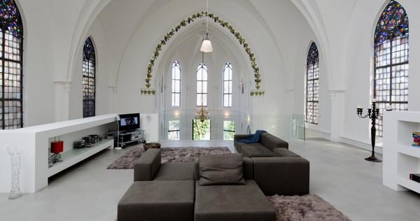 Casa di lusso in una chiesa: la WoonkerkXL