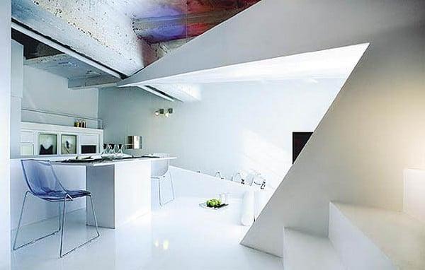 appartamento architettura moderna