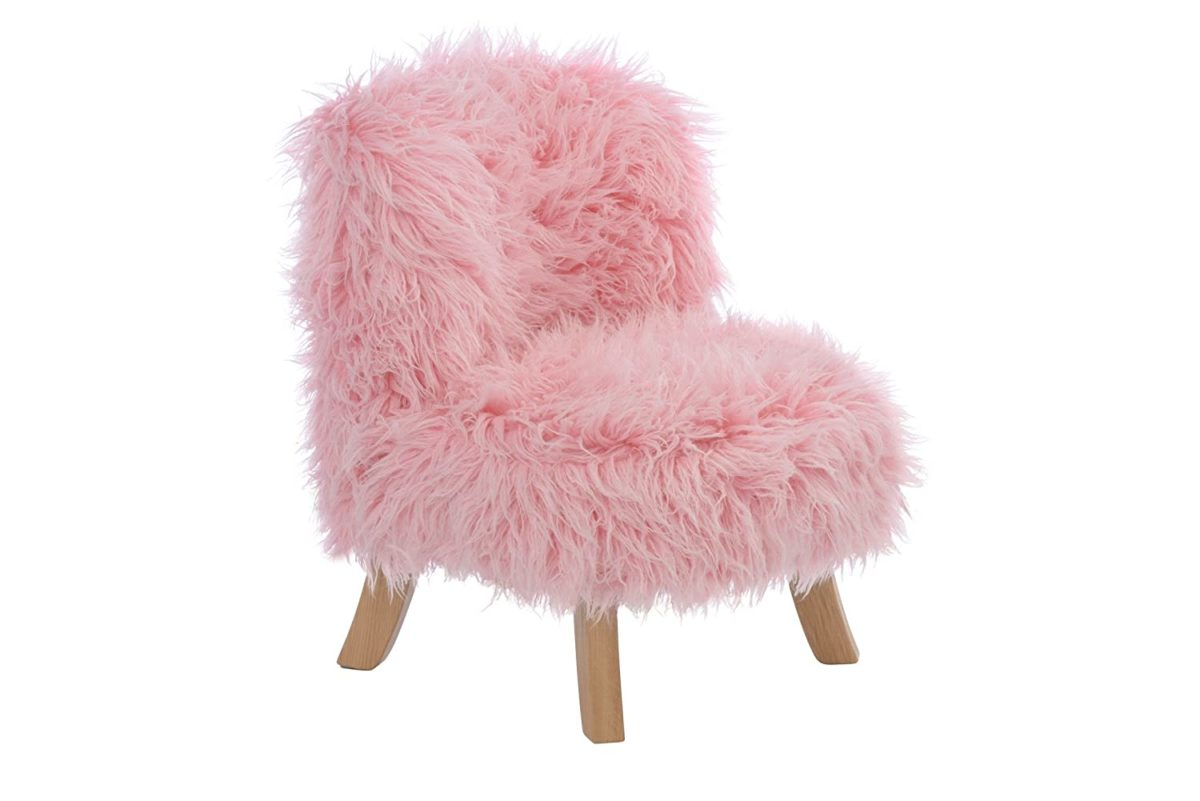 sedia-bambini-pelliccia