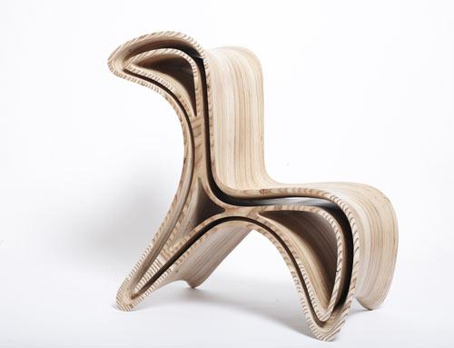 Sedia in legno design