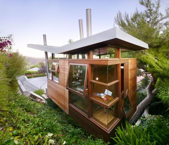 Casa immersa nella natura con soggiorno studio relax