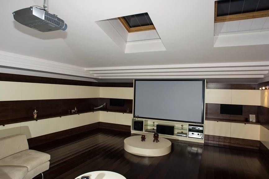 home-theatre-mansarda