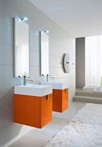 Doppio lavabo design - Due lavandini bagno ...