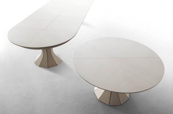 tavolo allungabile rotondo