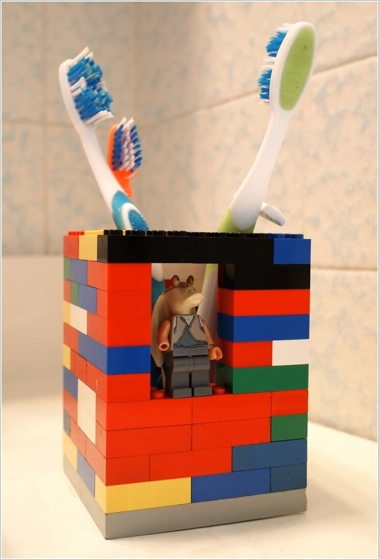 portaspazzolino-lego