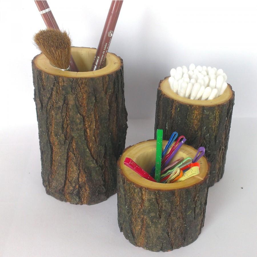 portaspazzolino-tronco-legno