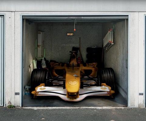 Adesivi per garage - Garage mobile per auto ...