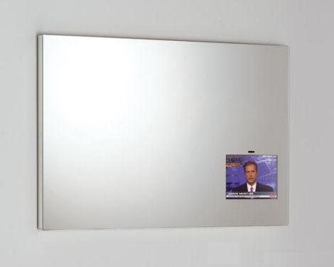 specchio con tv