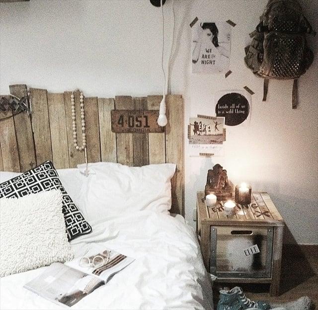 Galleria foto - Realizzare una spalliera di un letto fai da te Foto 51