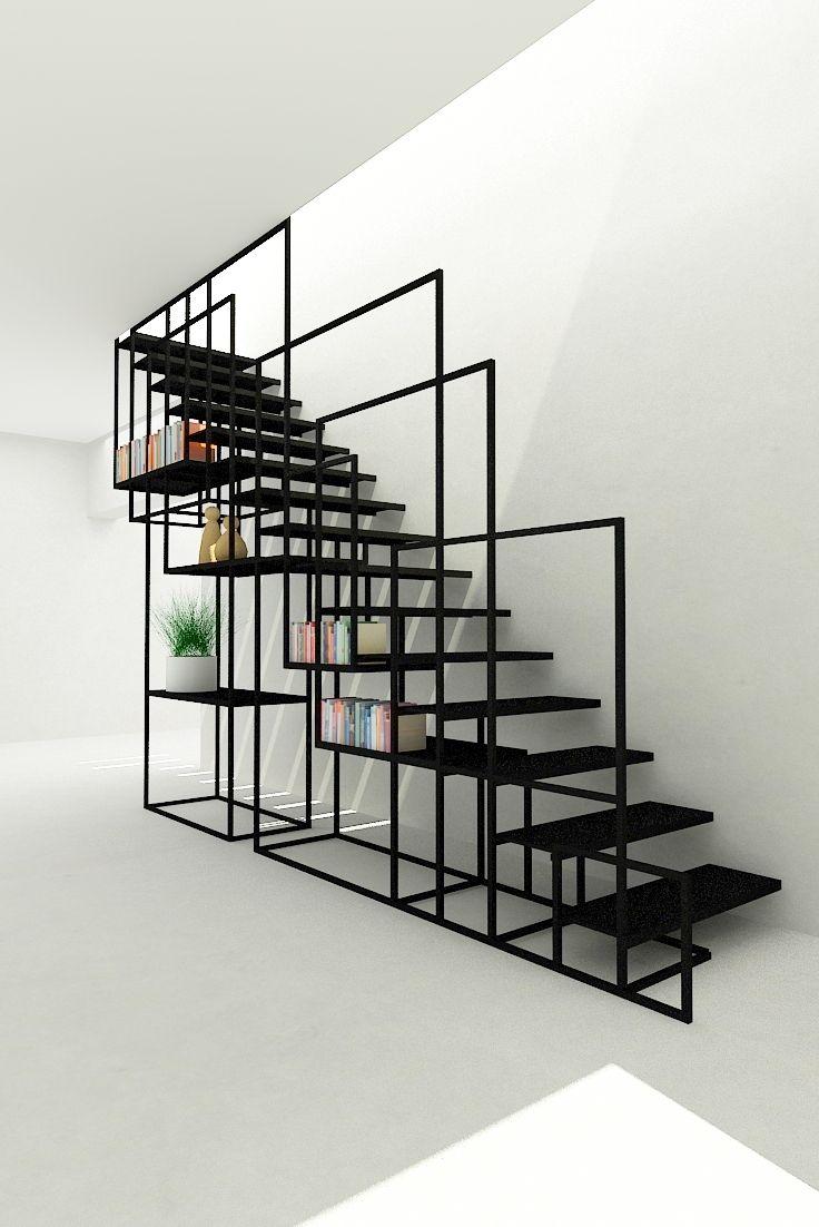 ringhiera-design-ferro-libreria
