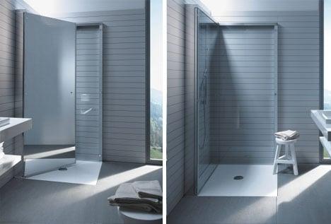 Cabina doccia salvaspazio: proposte moderne per risolvere
