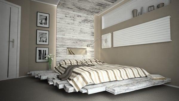 Galleria foto - Realizzare una spalliera di un letto fai da te Foto 19