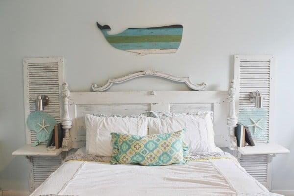 Galleria foto - Realizzare una spalliera di un letto fai da te Foto 9