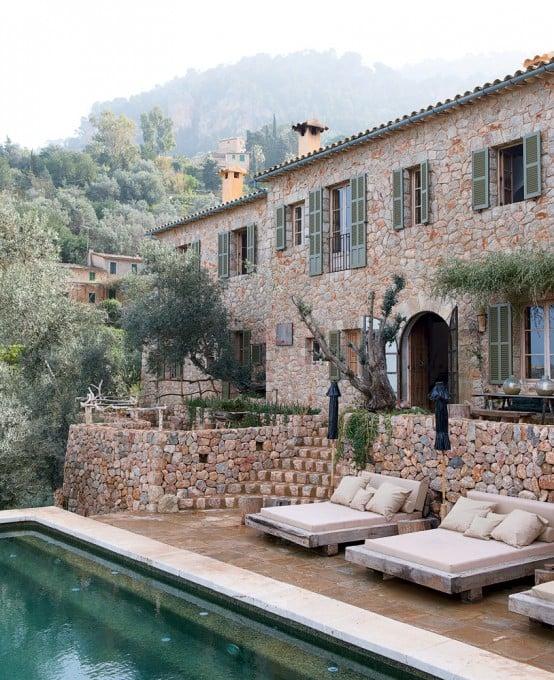 Casa rurale: arredamento e design