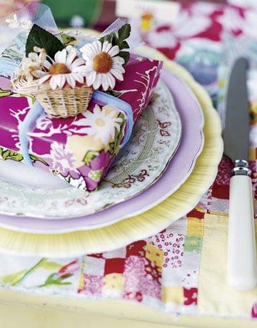 Galleria foto - Apparecchiare la tavola per pranzi e cene in giardino Foto 40