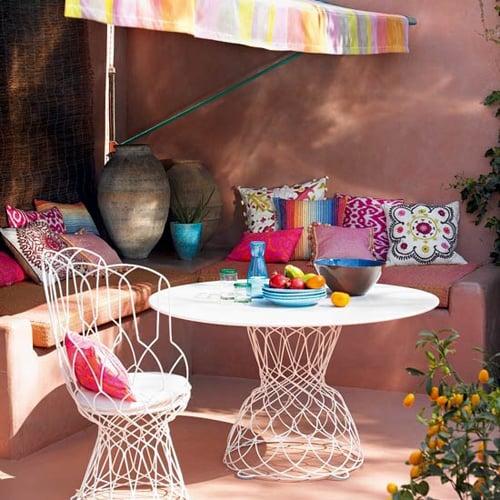 Galleria foto - Apparecchiare la tavola per pranzi e cene in giardino Foto 33