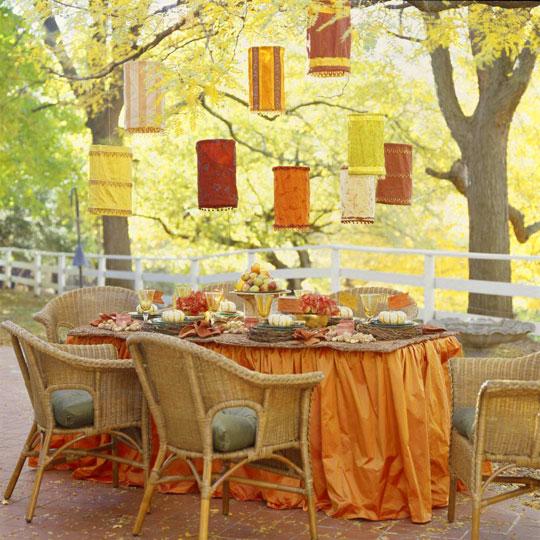 Galleria foto - Apparecchiare la tavola per pranzi e cene in giardino Foto 18