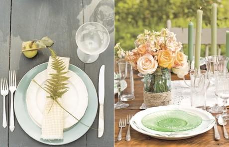 Galleria foto - Apparecchiare la tavola per pranzi e cene in giardino Foto 8