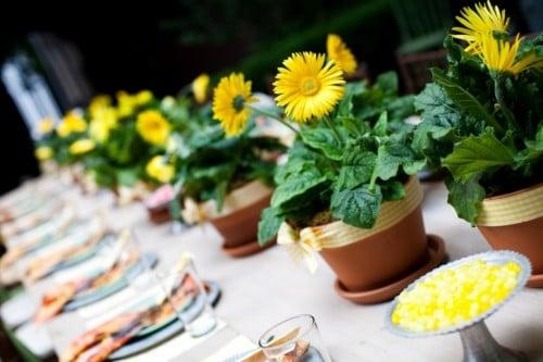 Galleria foto - Apparecchiare la tavola per pranzi e cene in giardino Foto 3