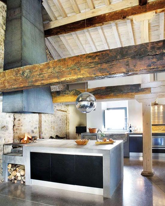 Idee Per Ristrutturare Casa Rustica.Arredamento Rustico Moderno