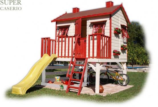 Casette per bambini da giardino for Splendide planimetrie della casa