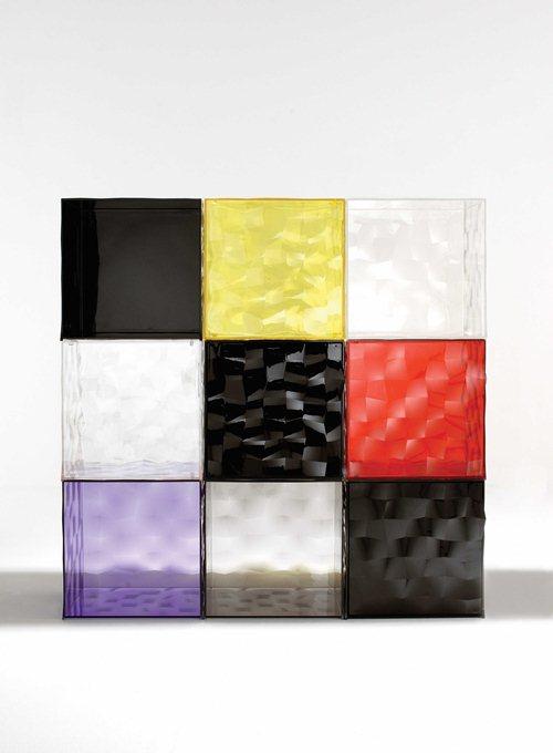 parete divisoria con cubi