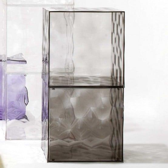 Cubi colorati: Optic di Kartell