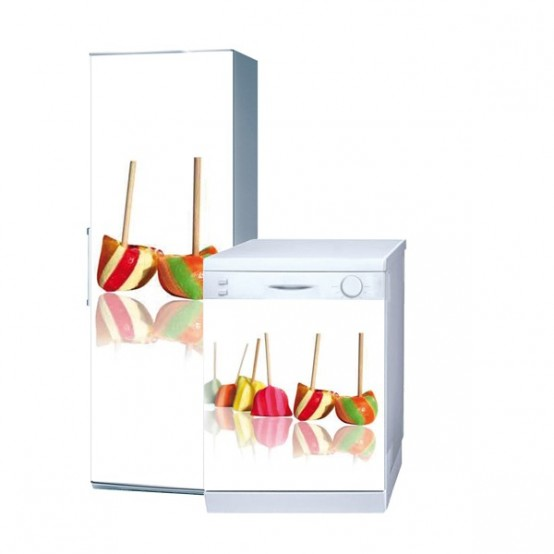 adesivi per frigo e lavastoviglie
