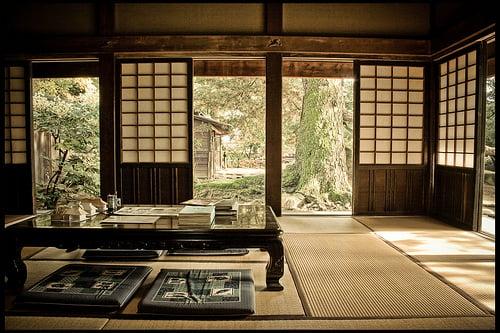 arredamento stile giapponese