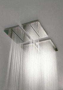 Soffione doccia effetto pioggia - Soffione doccia a soffitto ...