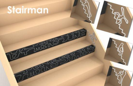 adesivi per proteggere le scale