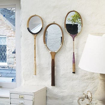Racchette da tennis con specchio